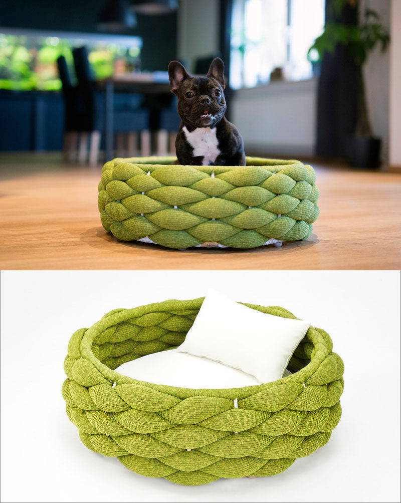 "Swiss design company Volentis GmbH, has designed ""LABONI"", a collection of modern pet furniture and accessories, and as part of the collection, they created modern pet bed named RIVA."