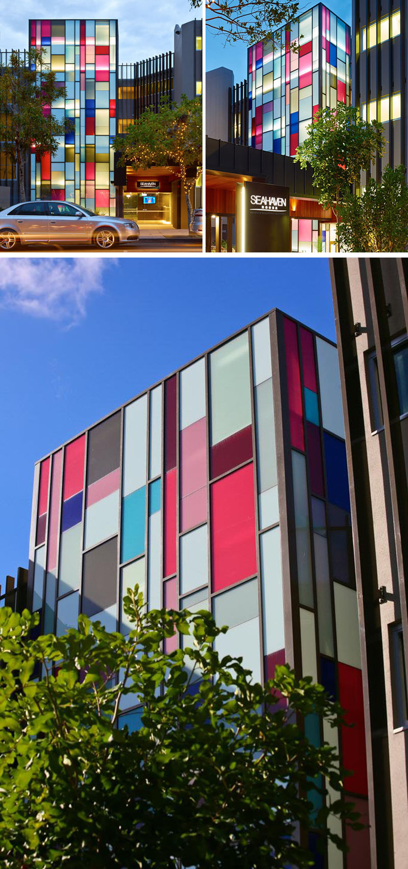 Modern Architecture Color 10 examples of colored glass found in modern architecture and