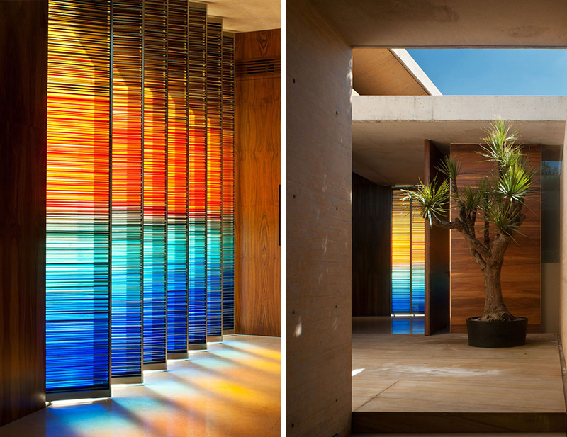 10 Examples Of Colored Glass Found In Modern Architecture