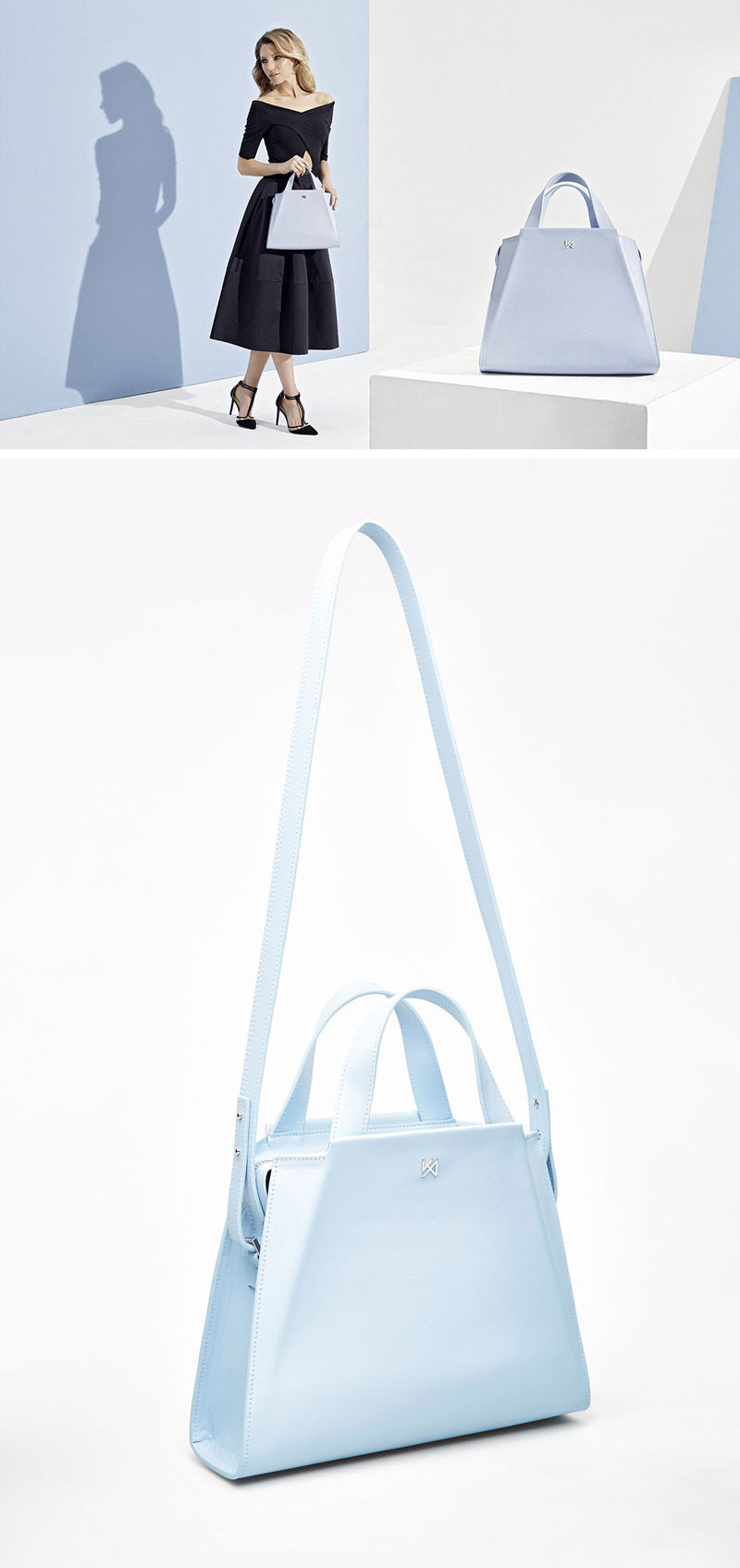 Every girl needs an everyday bag, and the Silhouette Handbag by AGNESKOVACS, with its simple form, allows it to blend seamlessly with any outfit.