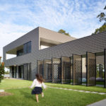 Decorative Laser Cut Screens Are Displayed Throughout This Australian House