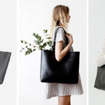 Timeless And Classic, These Black Leather Totes Are Perfect For Everyday