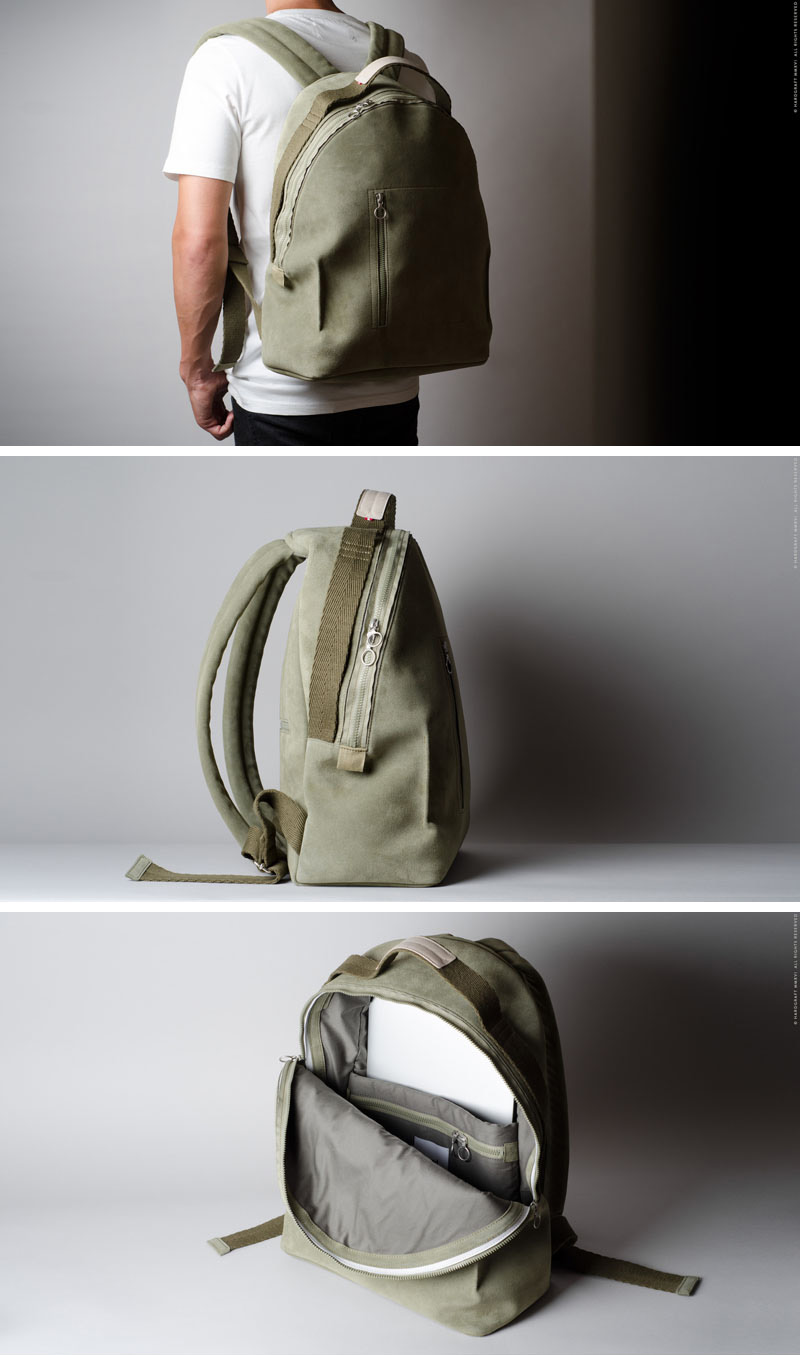Designed to be simple and long lasting, this backpack has a modern design and enables heavy packers to fit all their things inside comfortably.