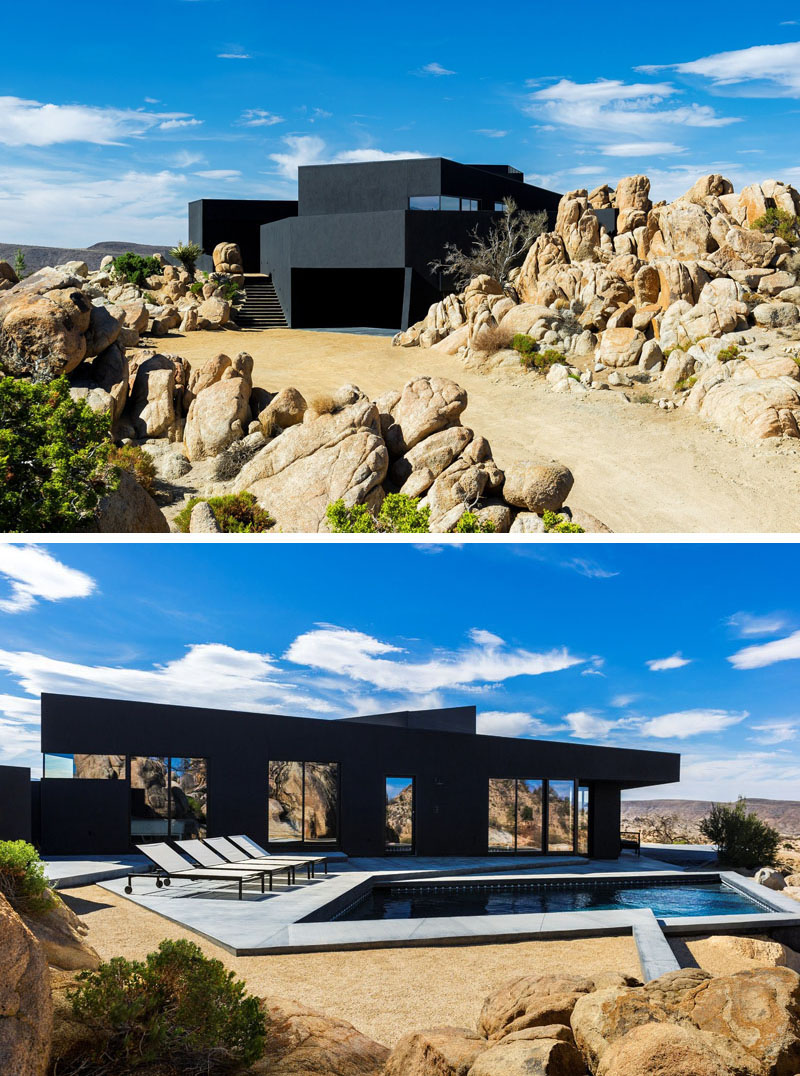 Exterior: 14 Examples Of Modern Houses With Black Exteriors