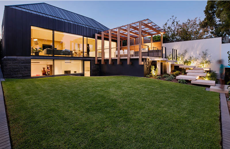 Architecture Firm Glasshouse Designed A Family Friendly Backyard Space With  A Number Of Design Details Like