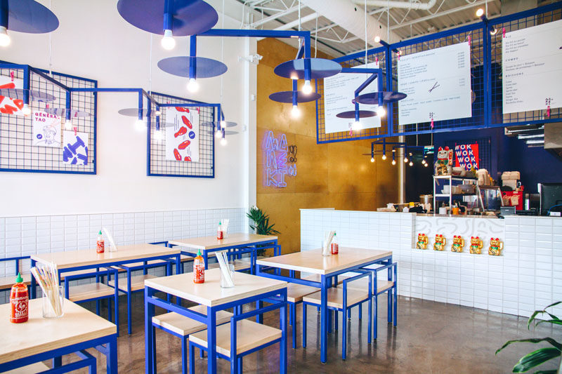 Interior Design Culture the interior of this new restaurant uses asian pop culture