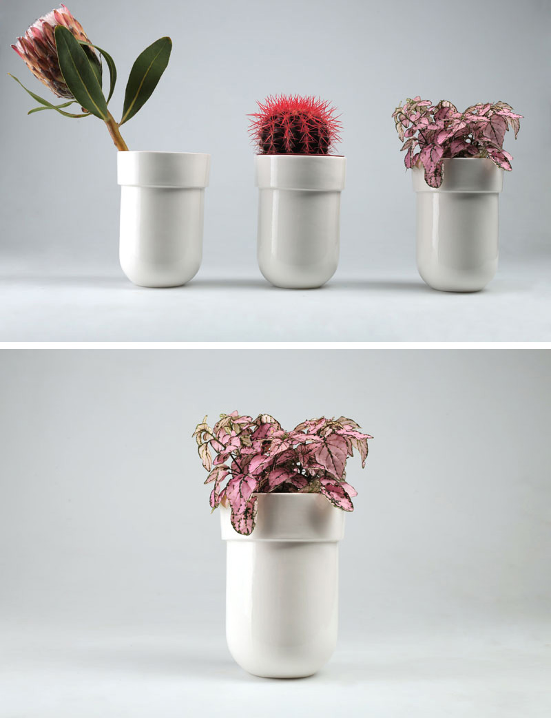 Contemporist & Floral Decor Is Made Easy With These Ceramic Wall Mounted Vases