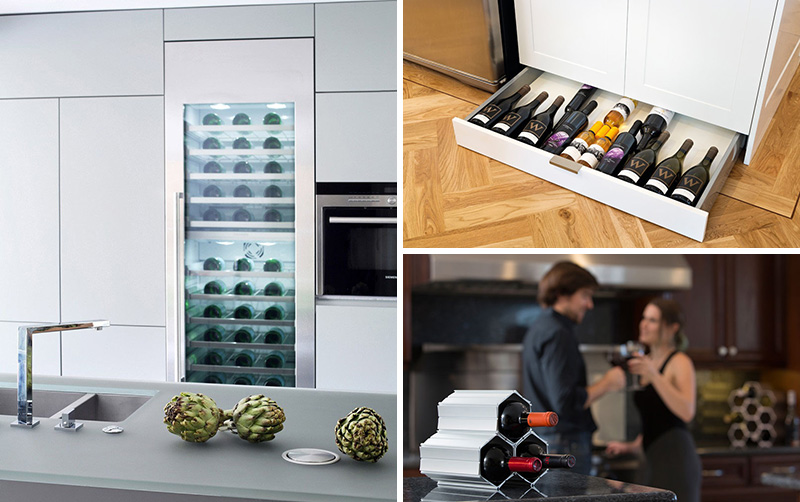 5 wine storage ideas for the kitchen contemporist rh contemporist com