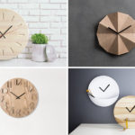 14 Modern Wood Wall Clocks To Spruce Up Any Decor