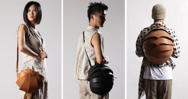 Hong Kong based fashion company KiliDesign, have designed a line of unique and sculptural and modern bags that were inspired by beetles. Made with high quality leather, the unisex collection of 'Beetle Bags' includes backpacks, round shoulder bags as well as messenger bags and a wristlet.