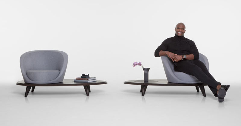 Actor Terry Crews Has Teamed Up With Bernhardt Design To