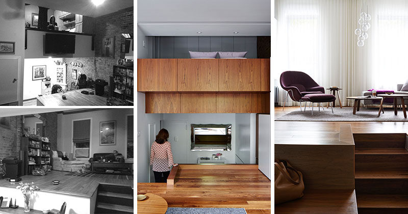 STADTArchitecture have designed the interior renovation of a loft apartment in an apartment building on the Upper West Side of New York City.