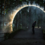 A Sculptural Arch Of Mist Has Been Installed In Japan