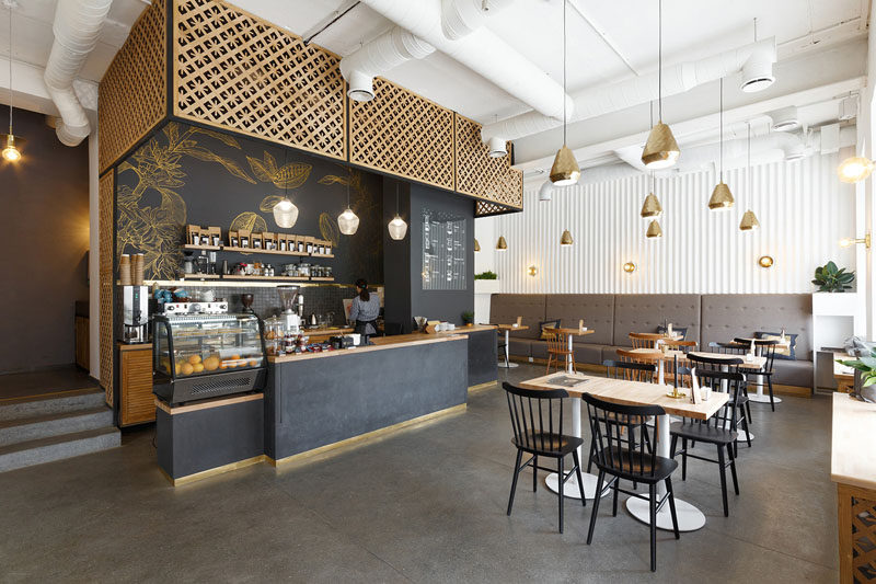 Delightful N+K Architectvra Have Recently Completed The Design Of The First Coffee Shop  With Its