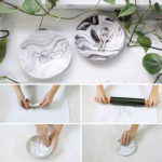 Create Your Own DIY Faux Marble Catch-All Bowl With This Easy Tutorial
