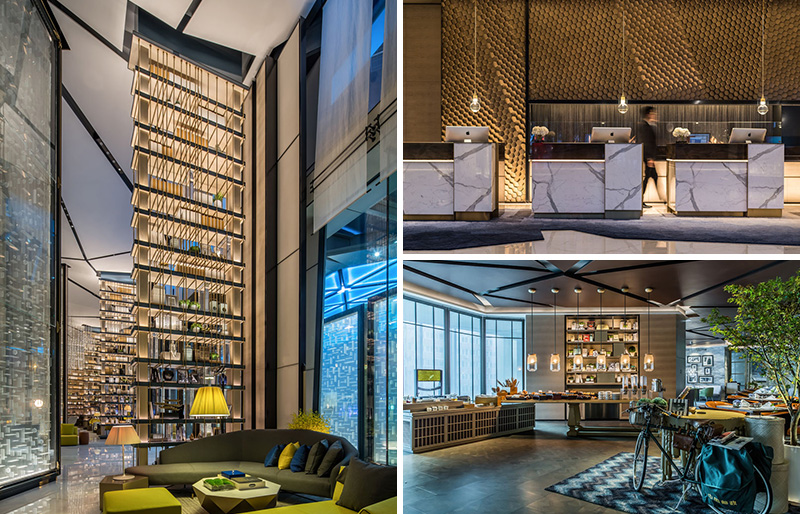 Joe Cheng of CCD/ Cheng Chung Design company, has recently completed the InterContinental Beijing Sanlitun, a luxury hotel in China.