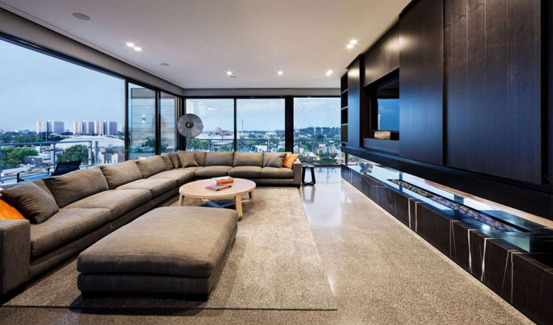 Jam Architects Designed This Modern Apartment With An