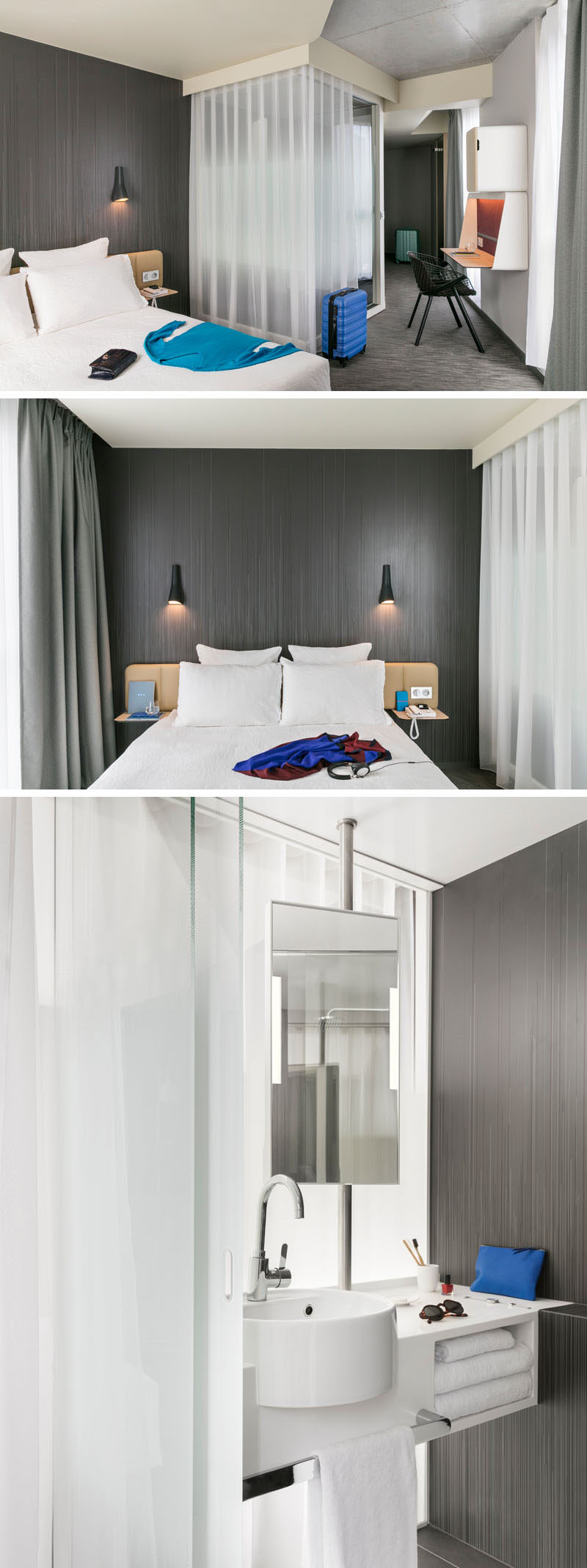 Hotel Room Designs: Patrick Norguet Has Designed The Interior Of The Newly