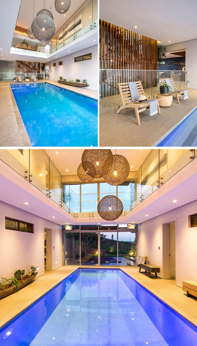 Indoor Swimming Pool For Modern House