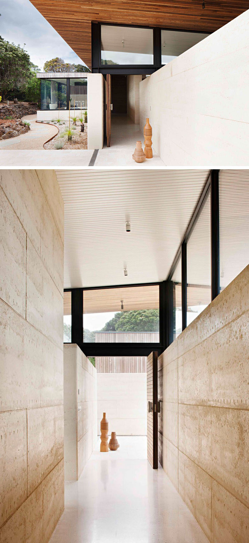 Local Materials And Techniques Were Used When Building The Home, With The  Sand Component Of The Rammed Earth Being Locally Sourced And Built By Local  ...