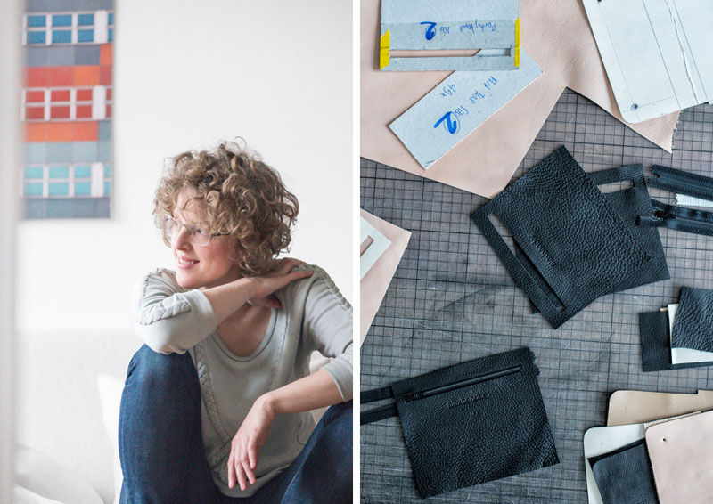 This modern designer attempted to learn how to sew from a seamstress company in the German countryside. Deciding that the company wasn't right for her, she enrolled in school for fashion design.