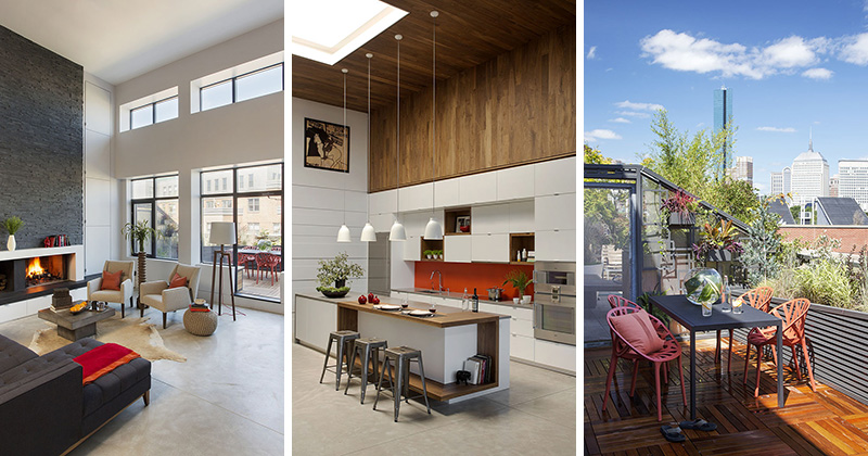 ZeroEnergy Design (ZED) together with Ralph S Osmond have given this modern Boston loft a makeover making it open and fresh, and suitable for an expanding family.