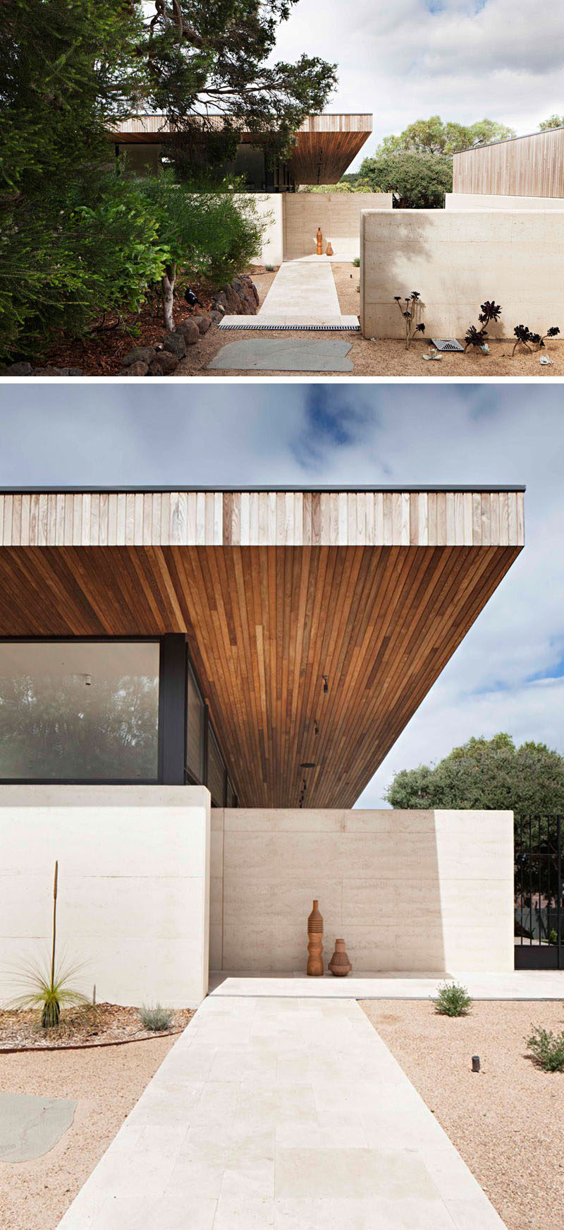 Captivating Robson Rak Architects And Interior Designers Have Recently Completed The  Layer House, A Home In Victoria, Australia, Built Using Rammed Earth And  Timber.