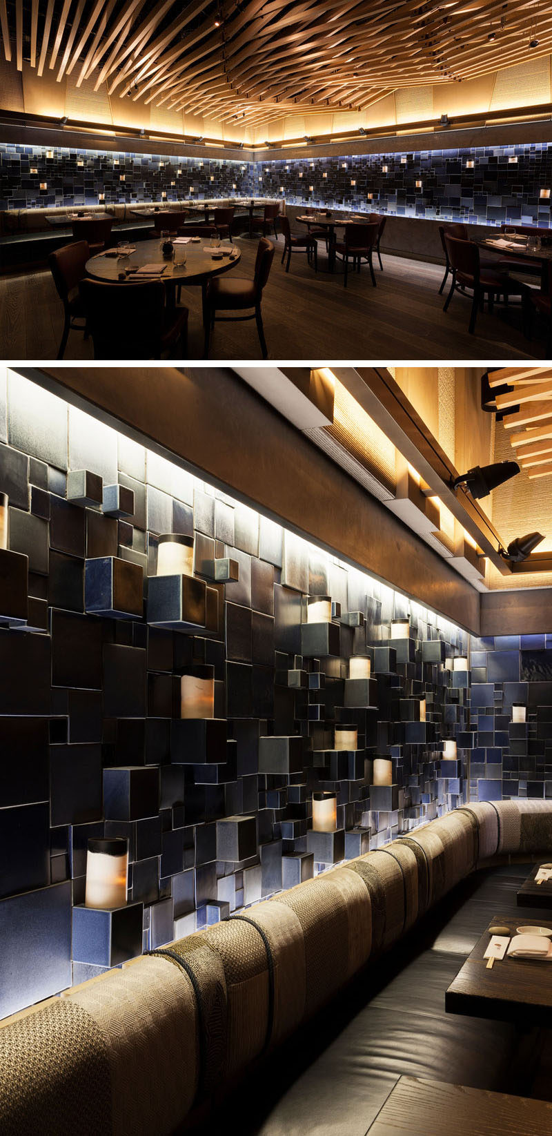 Nobu Downtown Nyc Features Three Ceramic Art Installations