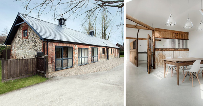 These Old Horse Stables Have Been Transformed Into A