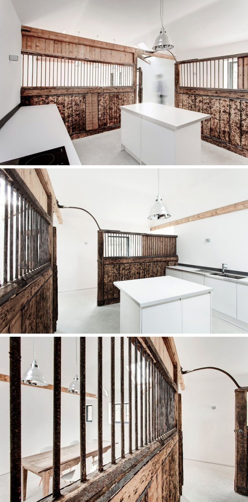 These Old Horse Stables Have Been Transformed Into A Minimalist Home
