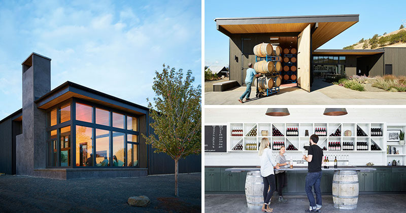 A New Building For This Winery In The Hills Of Washington State