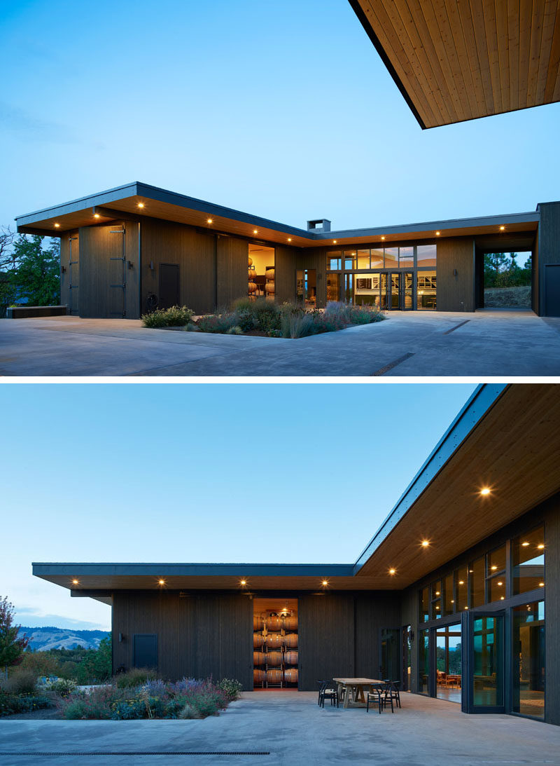 A New Building For This Winery In The Hills Of Washington