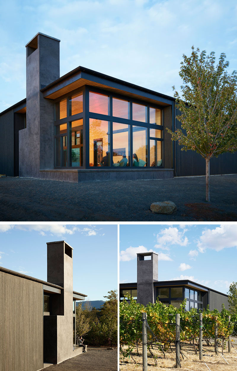 A new building for this winery in the hills of washington for Architect washington state