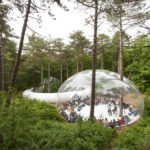 This Temporary Bubble-like Structure Was Built For A Dutch Festival