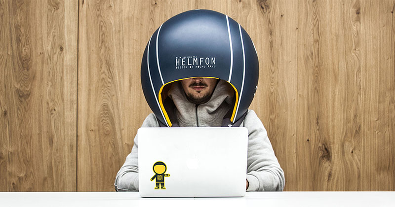 Bike Tune Up Cost >> This Oversized Helmet Is Designed To Block Out Noise In The Workplace | CONTEMPORIST