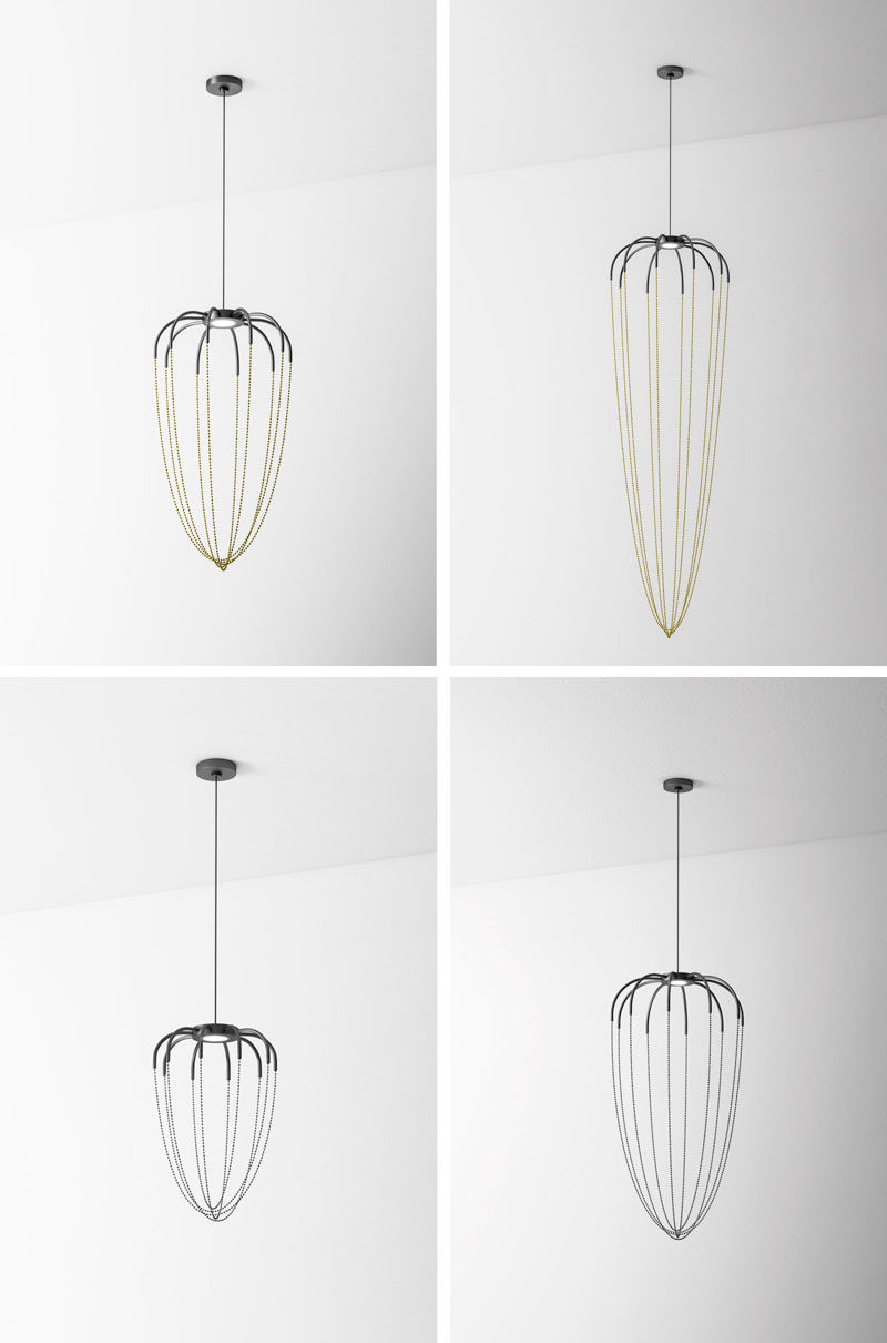 Japanese designer Ryosuke Fukusada has created a sculptural and minimalist pendant light collection named Alysoid.