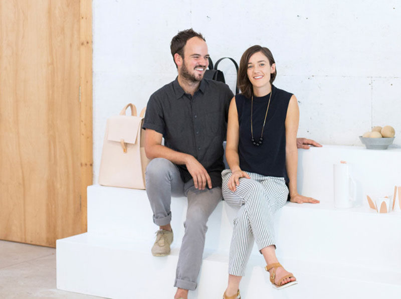 Andrew Deming and Rachel Gant of YIELD have designed a collection of minimalist and sophisticated homewares, furniture, jewelry and bags.
