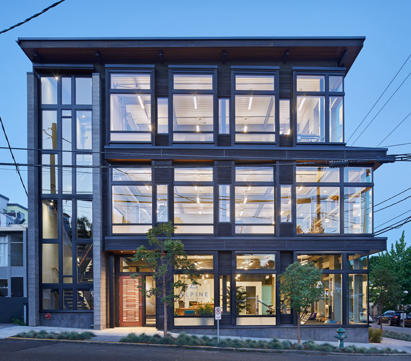 FINNE Architects Design A New Live-Work Building In Seattle
