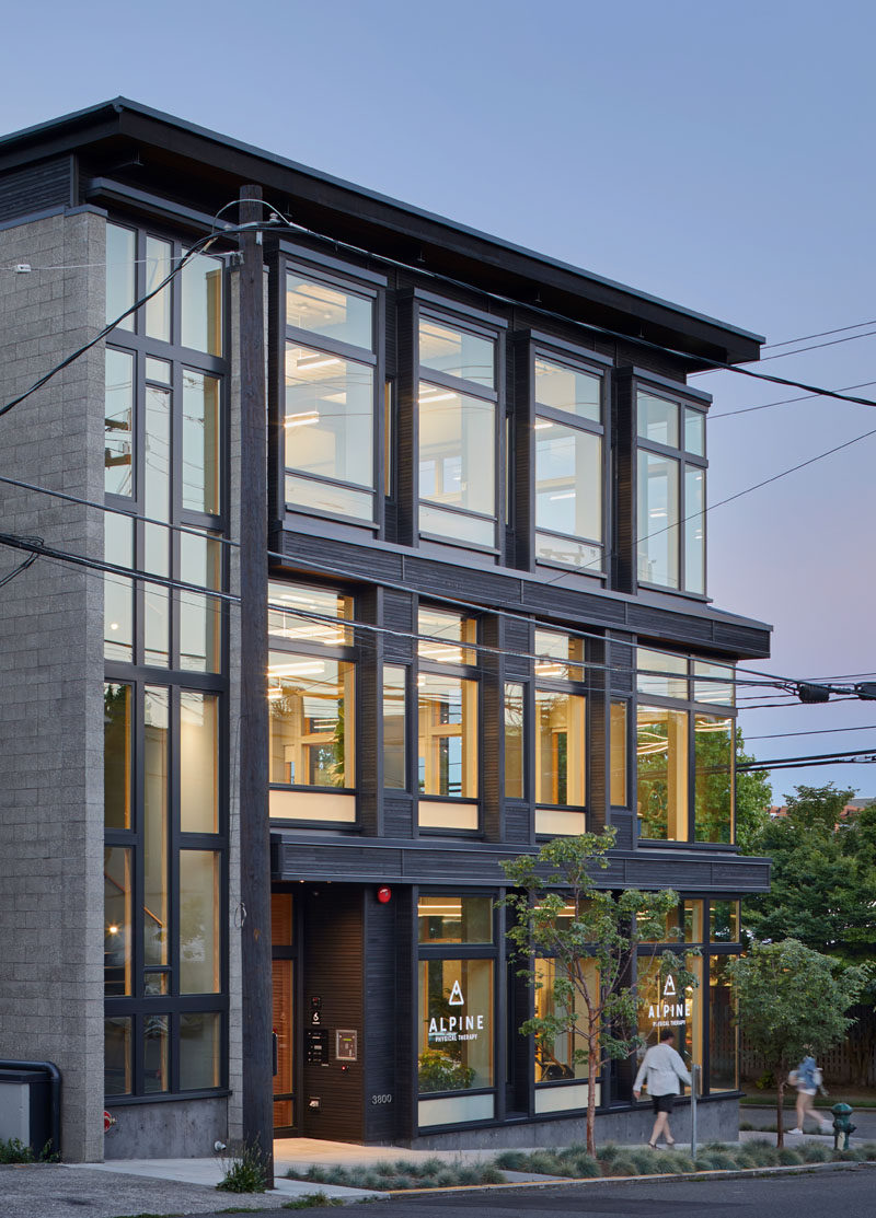 Architect Nils Finne has recently completed his latest project, the FINNE Svendsen Building, an live-work building in Seattle, Washington, where Nils Finne is both the architect and the building owner.