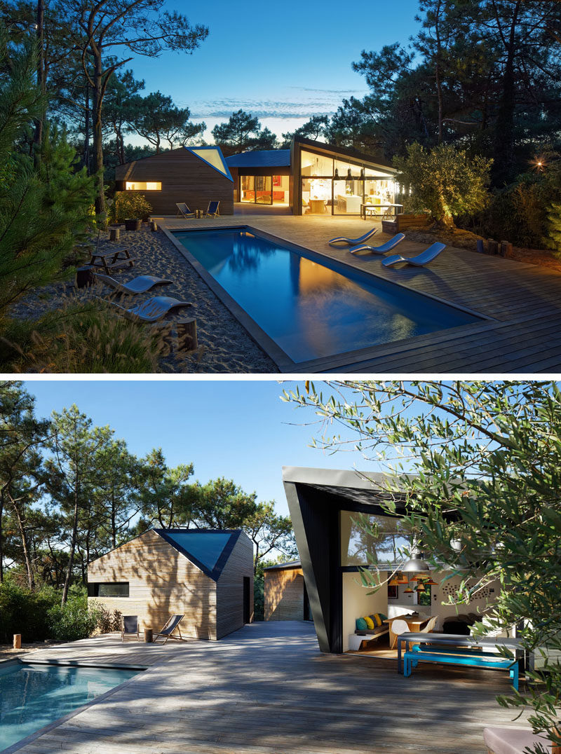 Contemporist Atelier Du Pont Design A New Holiday House In Cap Ferret France Contemporary