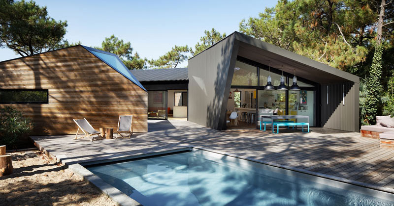 Atelier du Pont Design A New Holiday House In Cap Ferret, France