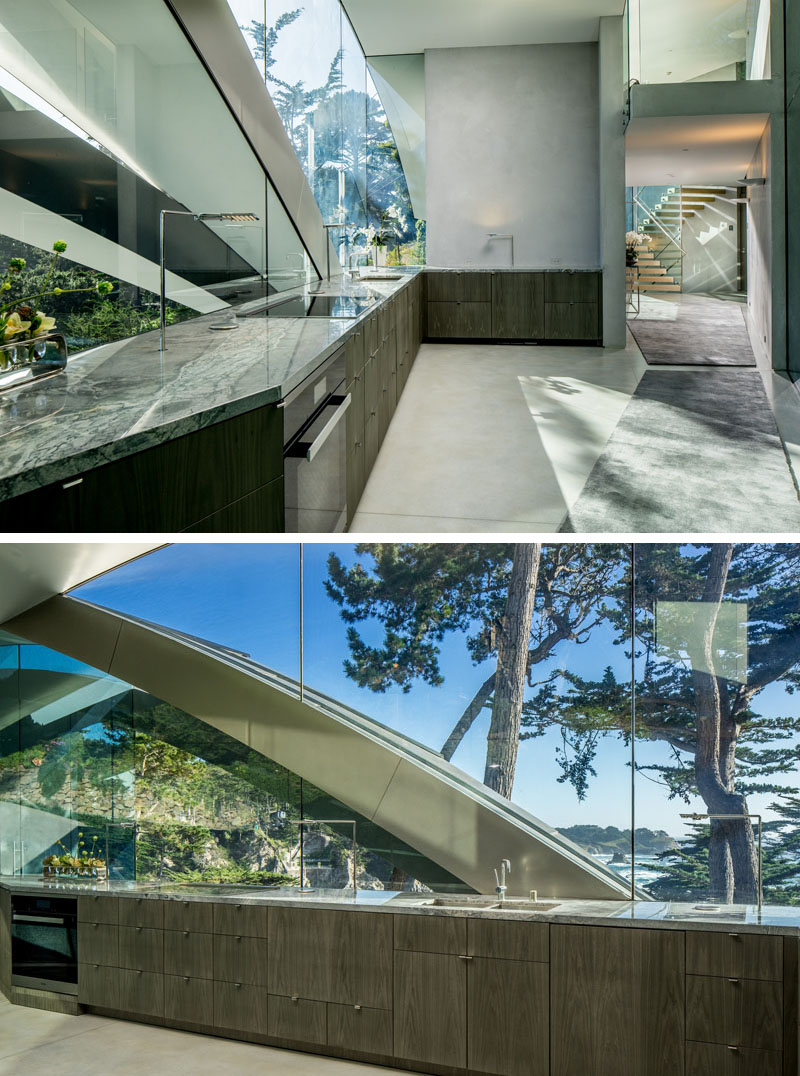 Modern Kitchen Design Glass Walls Dark Cabinets 100717 1130