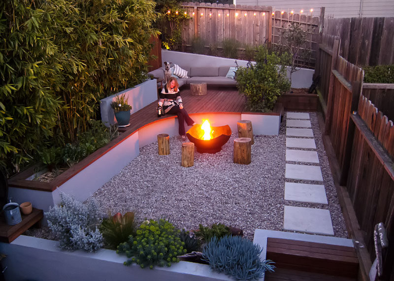 This Small Backyard In San Francisco Was Designed For ... on Small Backyard Entertainment Area Ideas id=16025