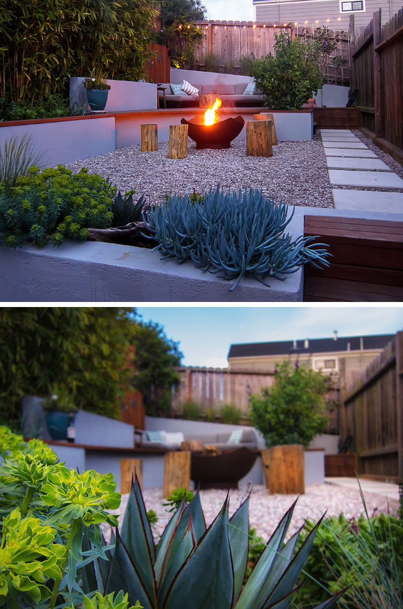 this small backyard in san francisco was designed for entertaining