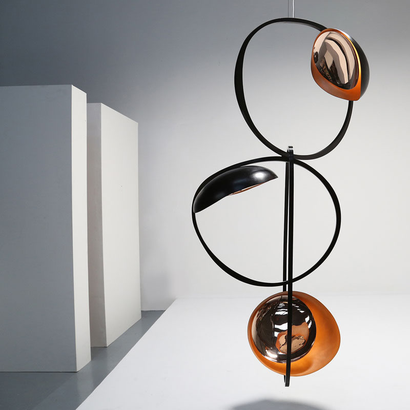 CONTEMPORIST Niamh Barry Has Designed A Collection Of Dramatic Lighting Sculptures