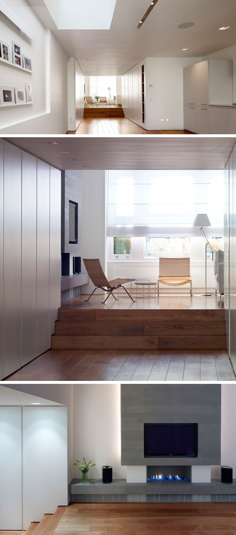 thompson baroni architects designed a contemporary update for