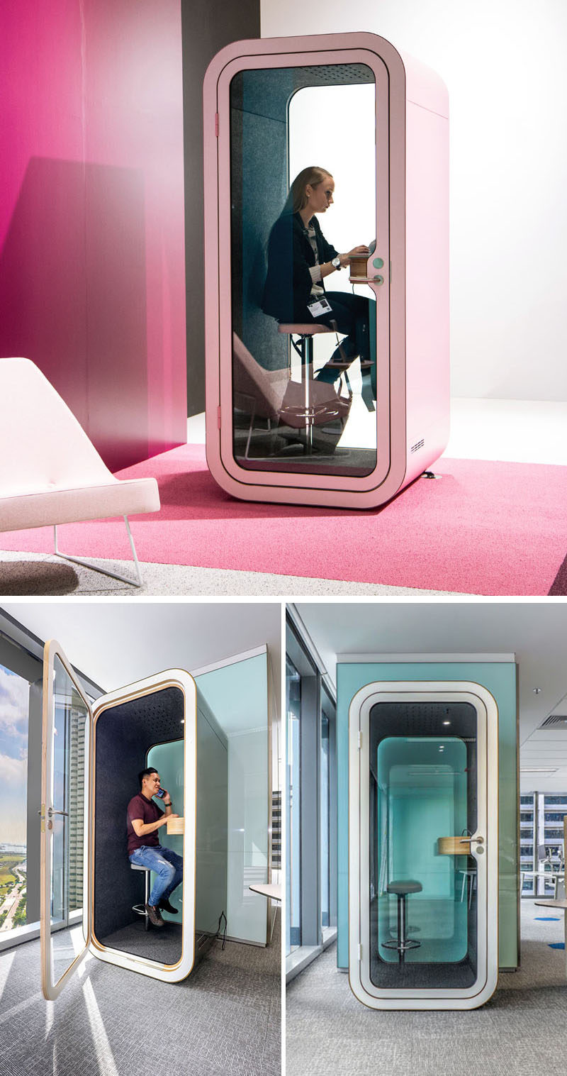 Framery, A Finnish Technology Startup, Designs And Manufactures Stylish  Soundproof Phone Booths And Meeting