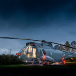 The Interior Of This Former Navy Helicopter Has Been Transformed Into A Unique Hotel Room