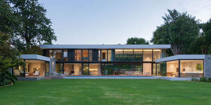 This house in south africa has views of a world heritage for Modern house website