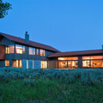 This Contemporary House Sits At The Base Of The Teton Mountains In Wyoming